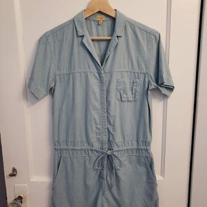 Wilfred Free Chambray Romper - Size Extra-Small